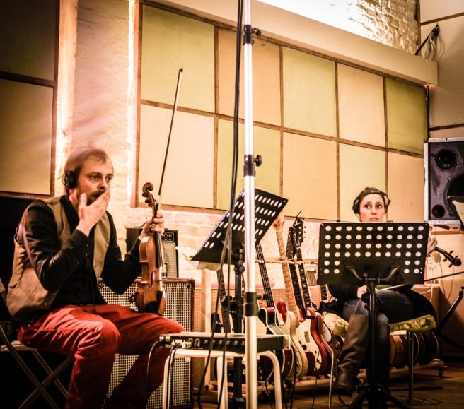 Popschutzstudio Streichquartett